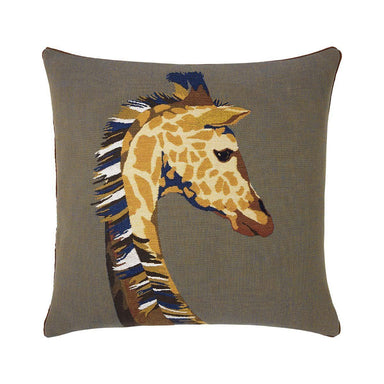 Harriet Havane Decorative Pillow by Iosis | Fig Linens and Home