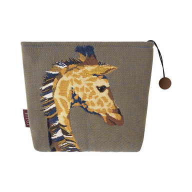 Harriet Havane Olive Giraffe Tote by Iosis | Fig Linens and Home