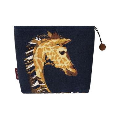 Harriet Nuit - Navy Giraffe Tote by Iosis | Fig Linens and Home