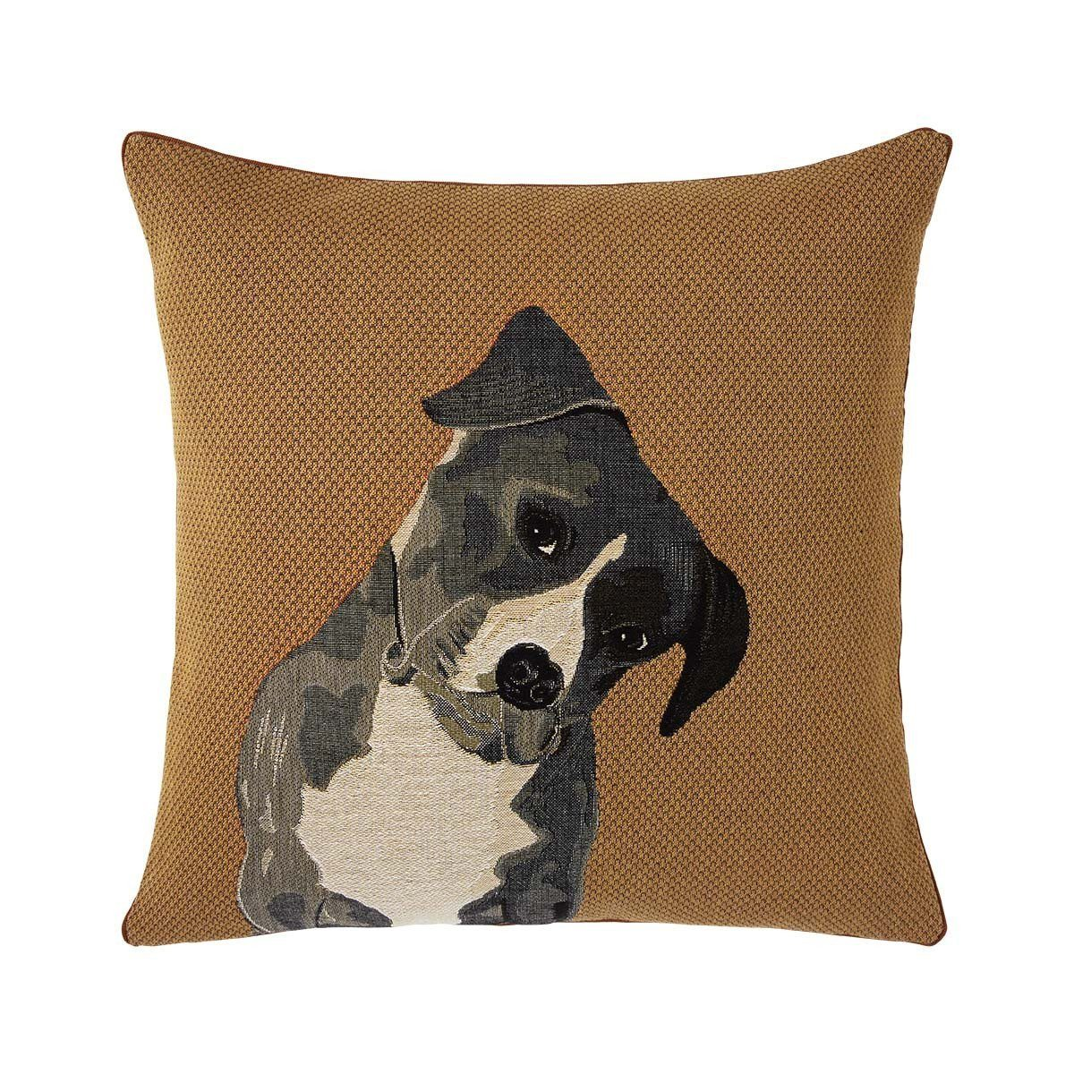 Jasper Ocre Decorative Pillow by Iosis