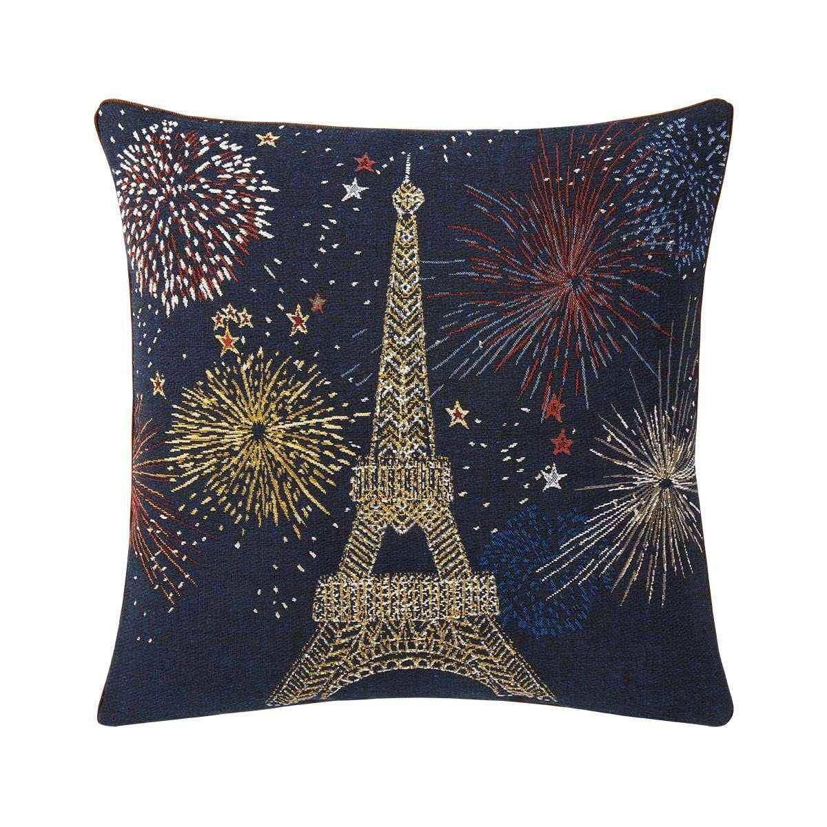 Joie Nuit Decorative Pillow by Iosis