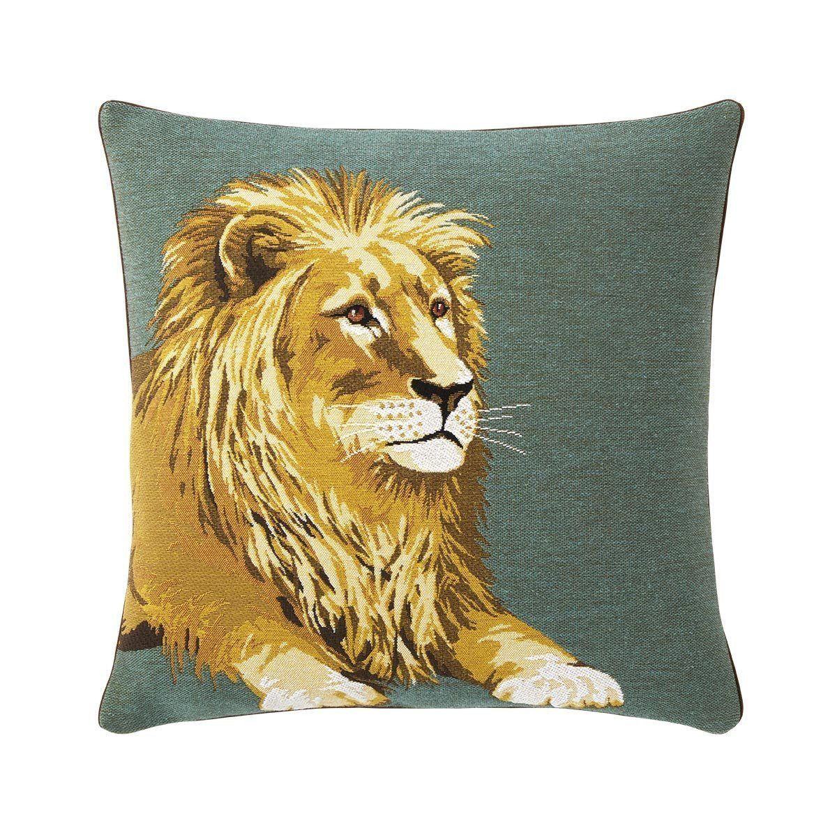 Leonis Savane Decorative Pillow by Iosis