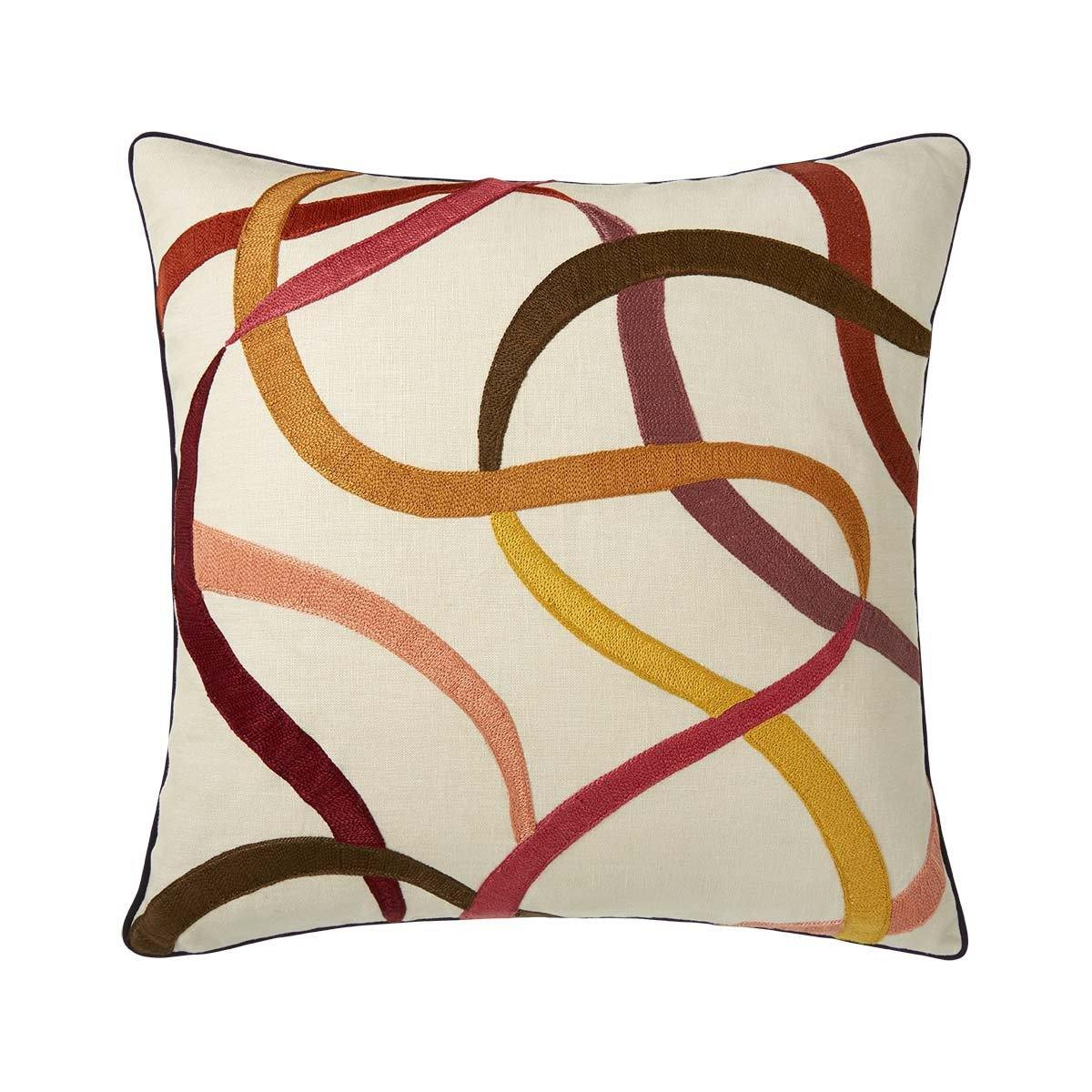 Liesse Amarante Decorative Pillow by Iosis
