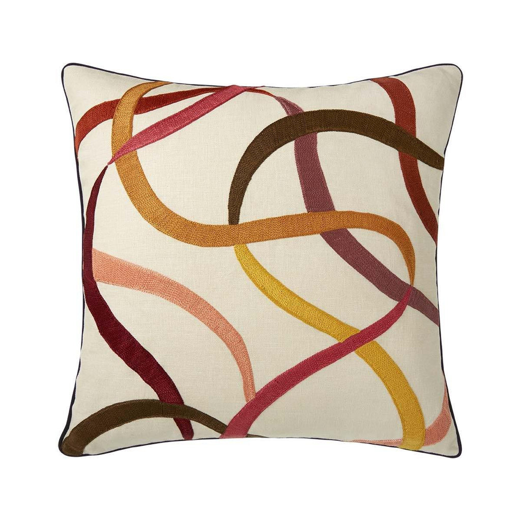 Liesse Amarante Decorative Pillow by Iosis | Fig Linens and Home