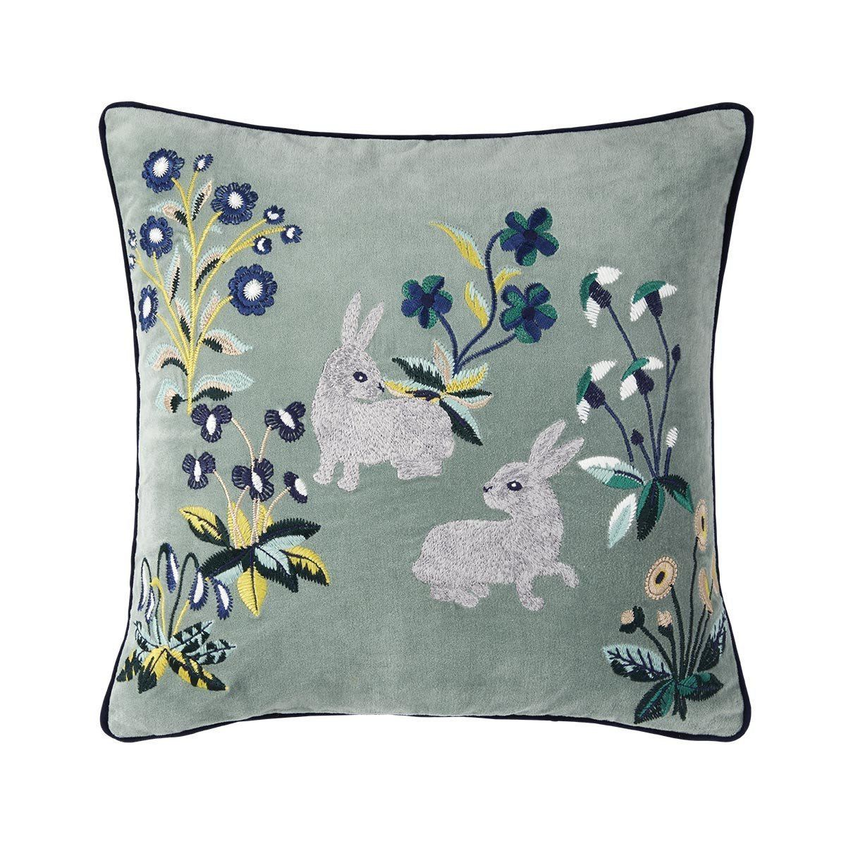 Renaissance Jade Rabbit Pillow by Iosis