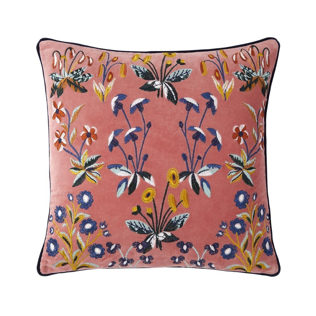 Renaissance Melba Floral Pillow by Iosis