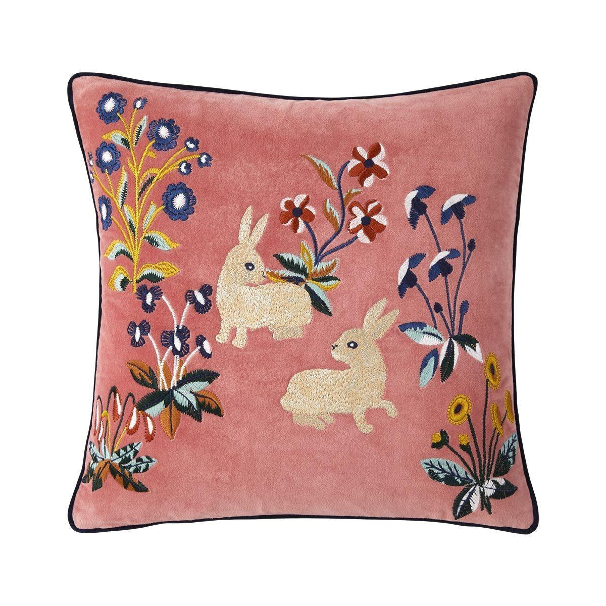 Renaissance Melba Rabbit Pillow by Iosis