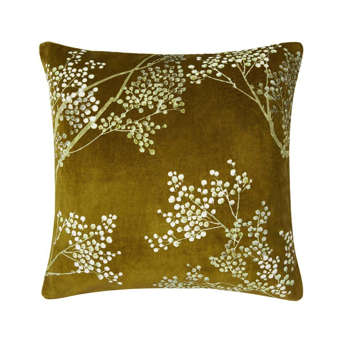 Sous La Lune Or Decorative Pillow by Iosis