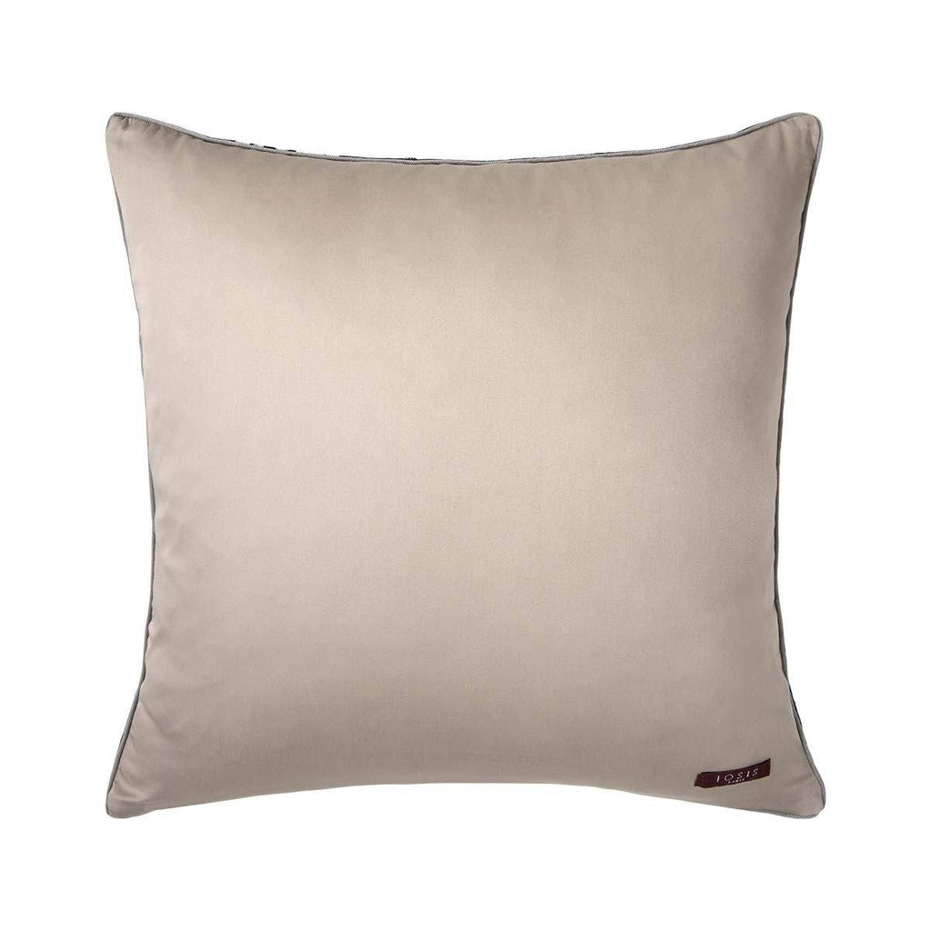 Fig Linens - Sous La Lune Teal Decorative Pillow by Iosis - Back