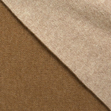 Verso Noisette Camel Reversible Throw by Iosis | Fig Linens and Home