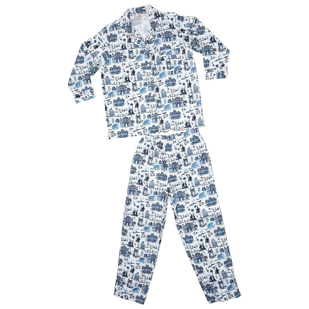 Fig Linens - Sunka Pajama Set by John Robshaw