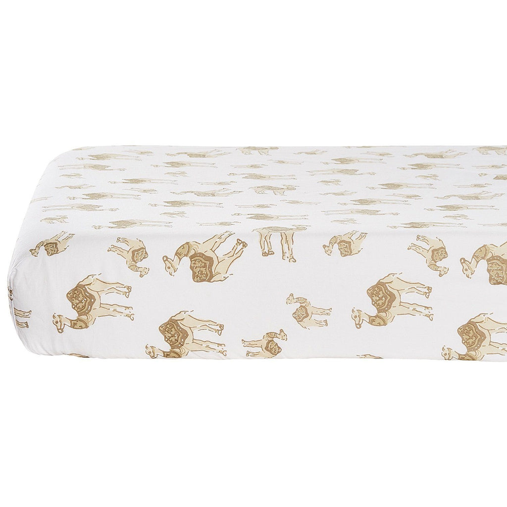 Sanda Fitted Crib Sheet by John Robshaw | Fig Linens and Home