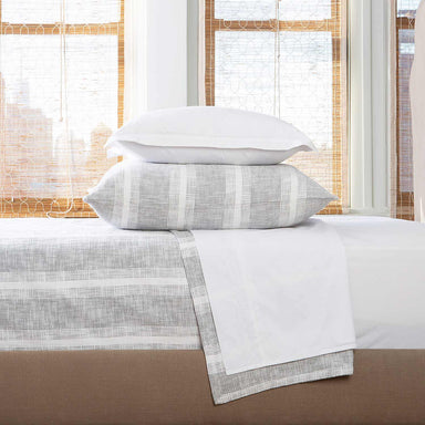 Niccan Gray Blanket by John Robshaw | Fig Linens and Home
