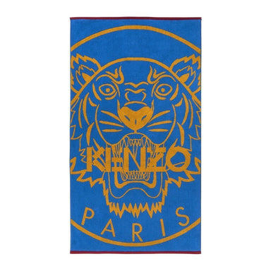 Majorelle Tiger Beach Towel by Kenzo | Fig Linens and Home