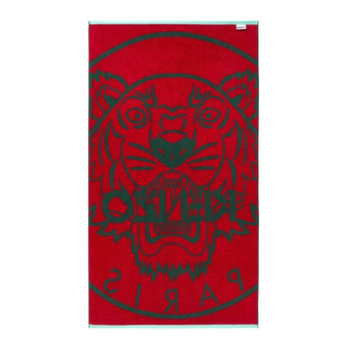 Fig Linens - Sapin Tiger Beach Towel by Kenzo - Back