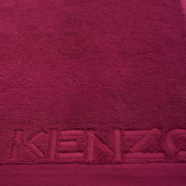 Iconic Berry Bath Sheet and Guest Towel Towels by Kenzo | Fig Linens and Home