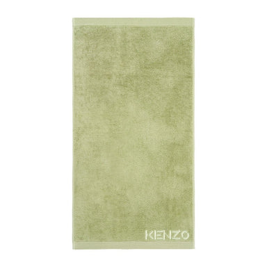 Iconic Pale Mint Bath Towels by Kenzo | Fig Linens and Home