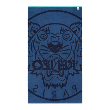 Fig Linens - Jeans Tiger Beach Towel by Kenzo