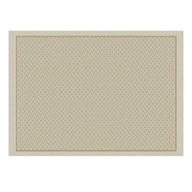 Fig Linens - Osmose Cork Tressage Coated Placemats by Le Jacquard Français