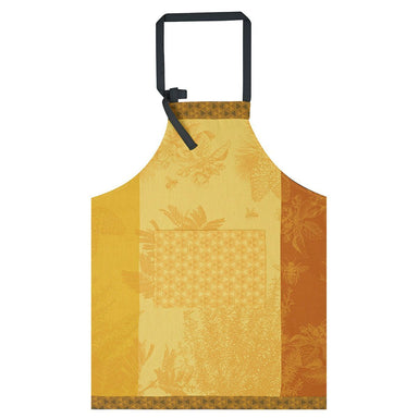 Miel de Nectar Orange Apron by Le Jacquard Français | Fig Linens