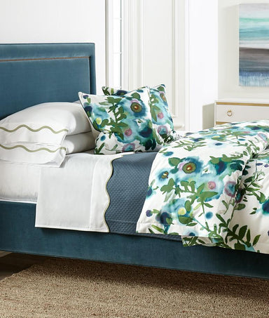 Open Spaces Turquoise Bedding by Legacy Home | Fig Linens