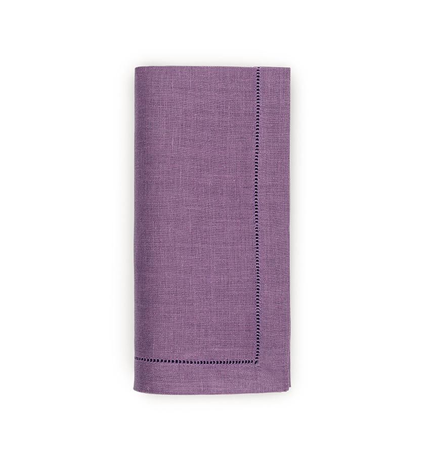Fig Linens - Sferra Table Linens - Festival Lilac Napkins
