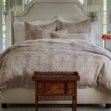 Medici Champagne Taupe Bedding by Lili Alessandra | Fig Linens