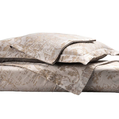 Fig Linens - Medici Champagne Taupe Duvet Set by Lili Alessandra