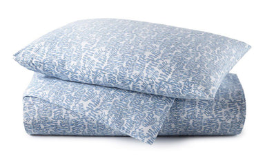 Fig Linens - Denim Fern Bedding by Peacock Alley