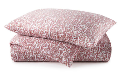 Fig Linens - Berry Fern Bedding by Peacock Alley - Duvet, sheets and shams