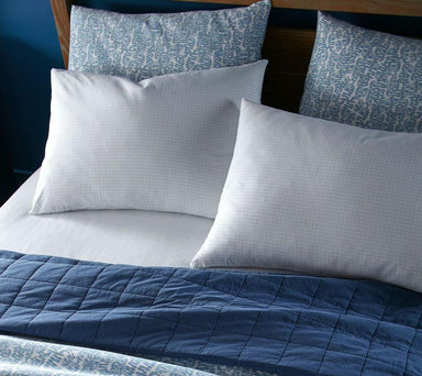 fig linens - peacock alley denim blue bedding