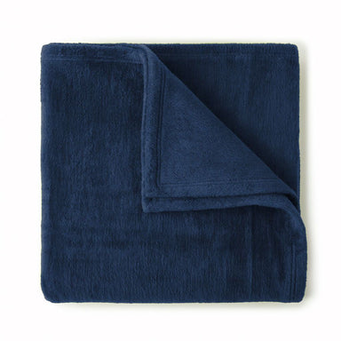 Slumber Denim Blanket by Peacock Alley | Fig Linens and Home