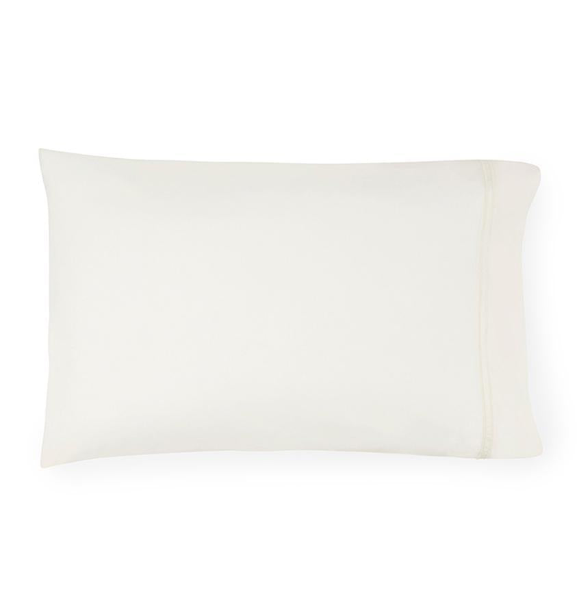 Fig Linens - Sferra Grande Hotel Bedding - Ivory Pillowcase