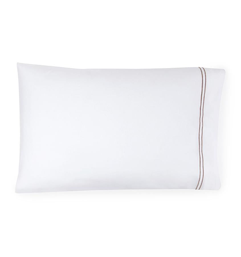 Fig Linens - Sferra Grande Hotel Bedding - White and grey case
