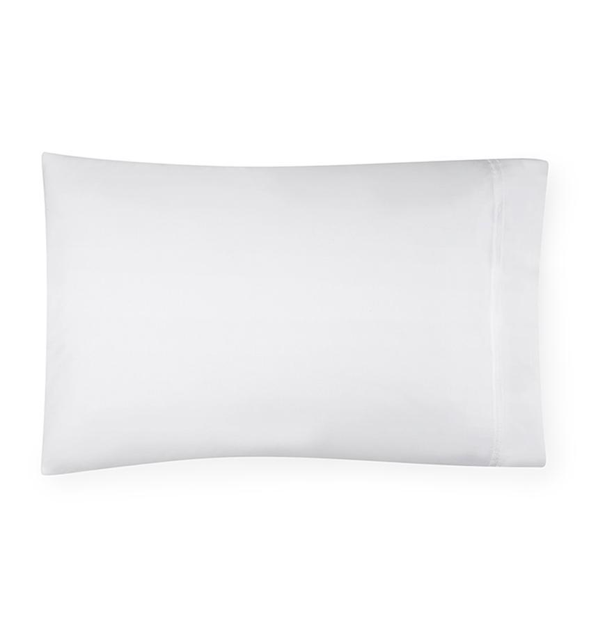 Fig Linens - Sferra Grande Hotel Bedding - White Pillowcase