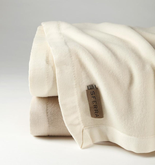 Fig Linens - Olindo Blanket by Sferra