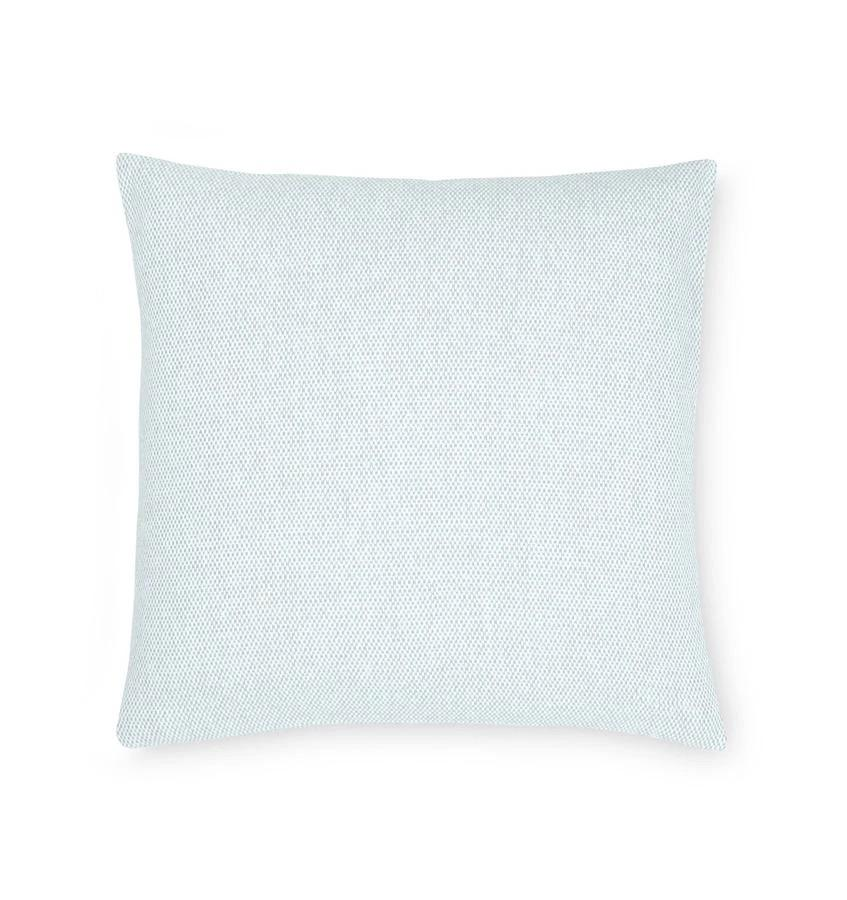 Fig Linens - Terzo Seagreen Pillow by Sferra