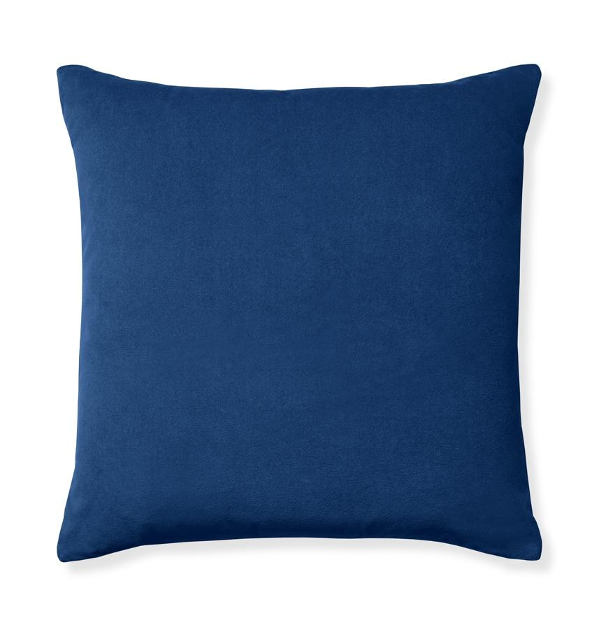 Velluto Navy Decorative Pillow | Fig Linens and Home