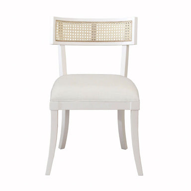 Fig Linens - Worlds Away - Britta White Klismos Dining Chair
