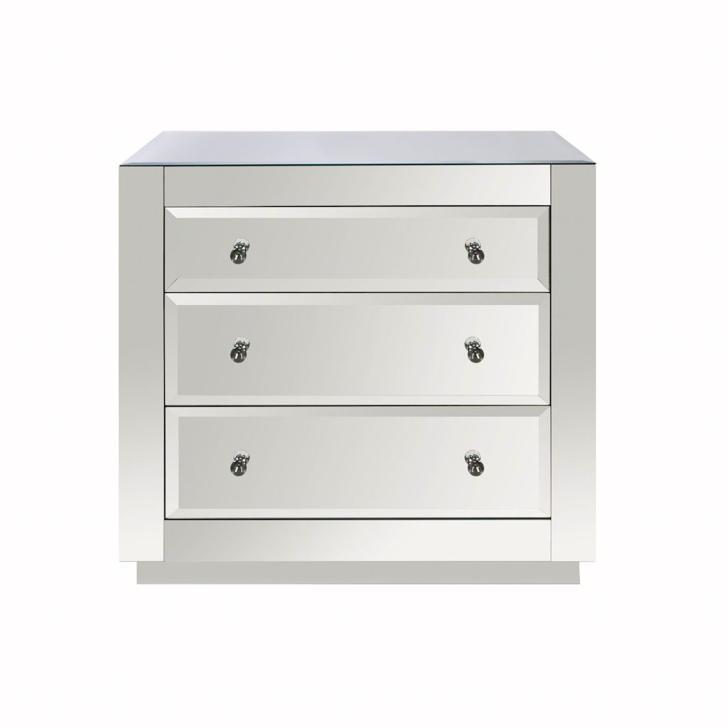 Alicia 3 Drawer Chest by Worlds Away