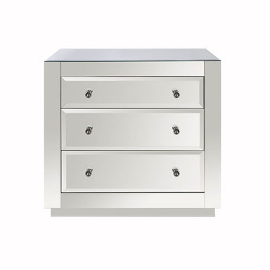 Alicia 3 Drawer Chest by Worlds Away | Fig Linens and Home