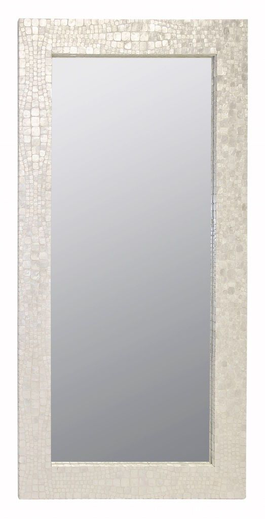 Hillary Floor Mirror by Worlds Away | Fig Linens and Home