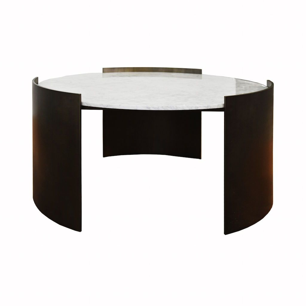 Montana Bronze Coffee Table with Marble Top