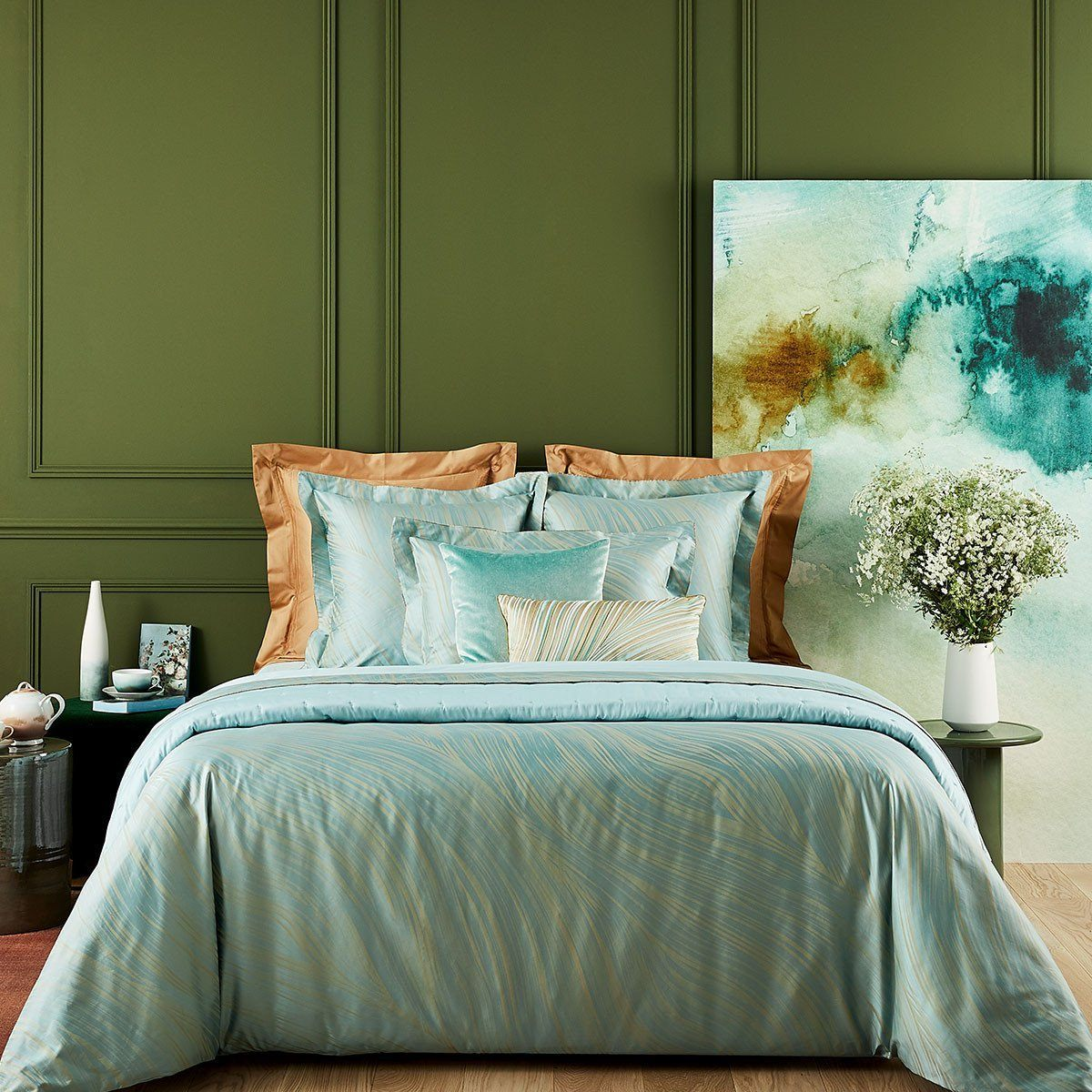 Au Loin Bedding by Yves Delorme