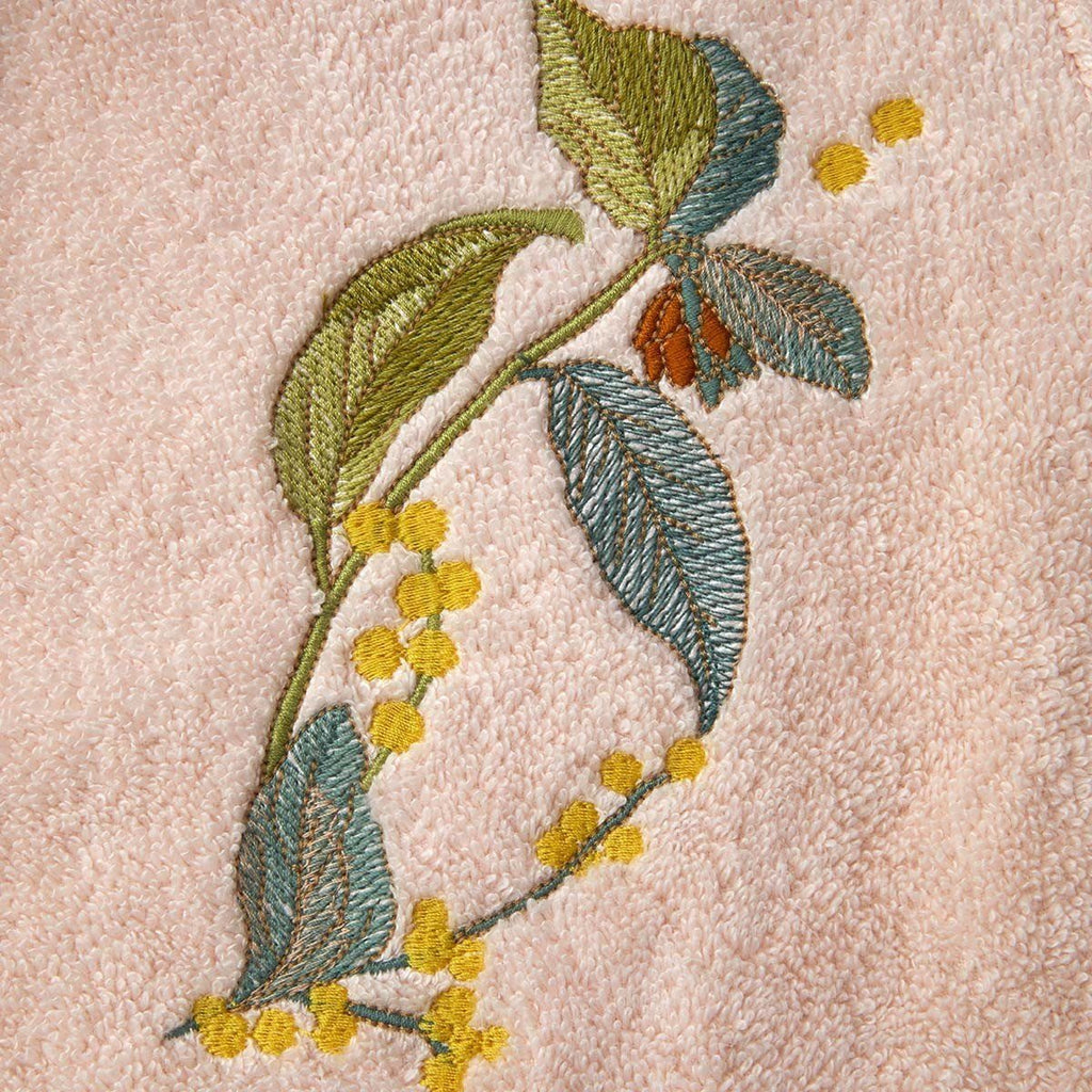Fig Linens - Yves Delorme Bagatelle Bathrobe with Embroidery