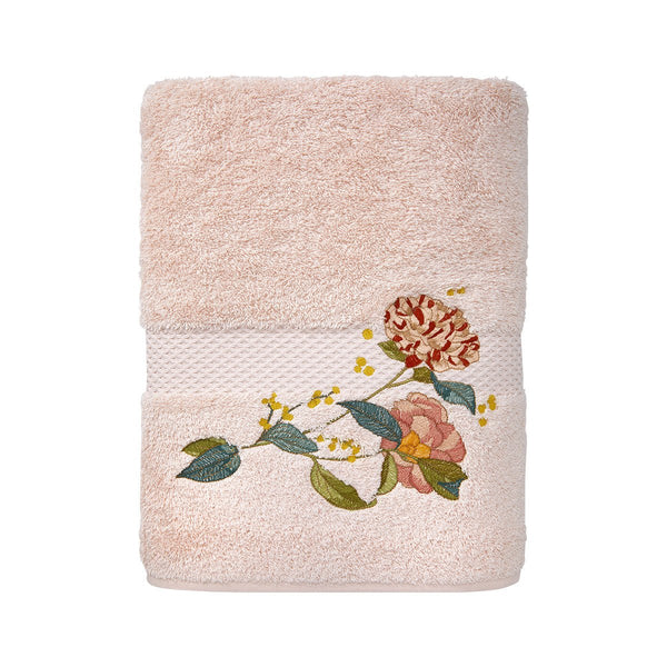 Fig Linens - Yves Delorme Bath Towels - Bagatelle Guest Towel