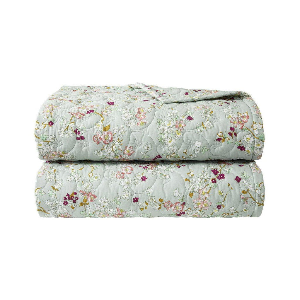 Fig Linens - Yves Delorme Bedding - Blossom Quilted Coverlet