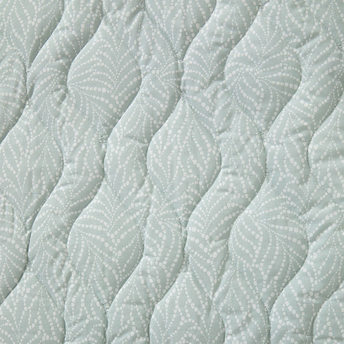 Fig Linens - Yves Delorme Bedding - Blossom Quilted Coverlet - Back