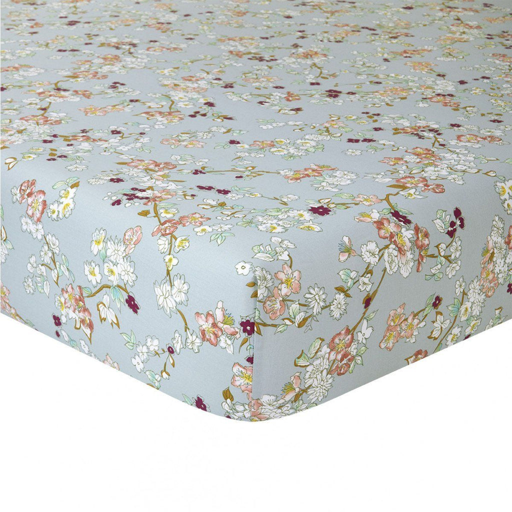 Fig Linens - Yves Delorme Bedding - Blossom Fitted Sheet