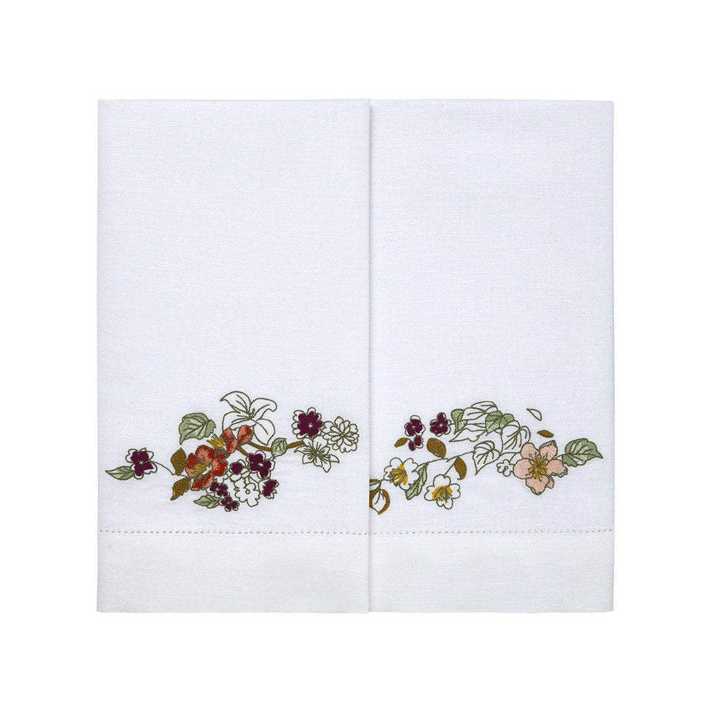 Blossom Fingertip Towels by Yves Delorme | Fig Linens and Home